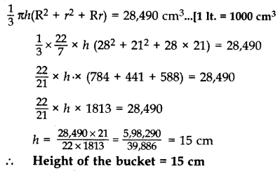 Important Questions for Class 10 Maths Chapter 13 Surface Areas and Volumes 87