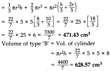 Important Questions for Class 10 Maths Chapter 13 Surface Areas and Volumes 9