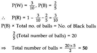 Important Questions for Class 10 Maths Chapter 15 Probability 8