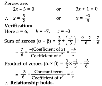Important Questions for Class 10 Maths Chapter 2 Polynomials 13