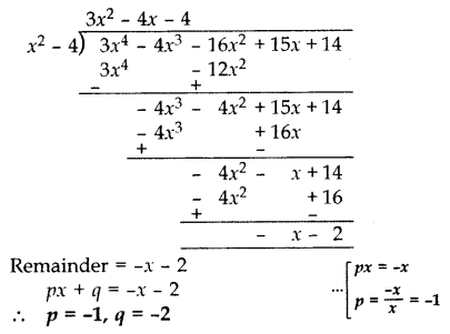 Important Questions for Class 10 Maths Chapter 2 Polynomials 27