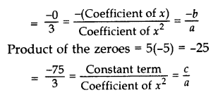 Important Questions for Class 10 Maths Chapter 2 Polynomials 7