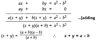 Important Questions for Class 10 Maths Chapter 3 Pair of Linear Equations in Two Variables 1