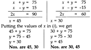Important Questions for Class 10 Maths Chapter 3 Pair of Linear Equations in Two Variables 19