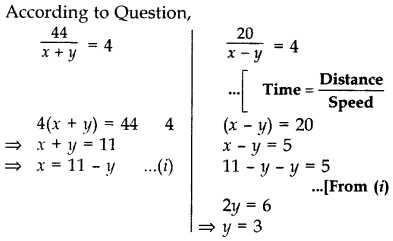 Important Questions for Class 10 Maths Chapter 3 Pair of Linear Equations in Two Variables 25