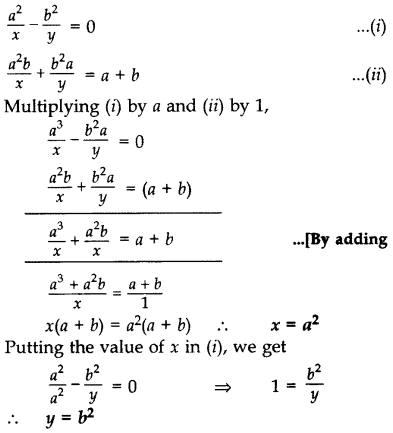 Important Questions for Class 10 Maths Chapter 3 Pair of Linear Equations in Two Variables 9