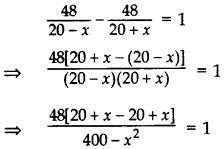 Important Questions for Class 10 Maths Chapter 4 Quadratic Equations 47