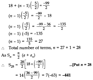 Important Questions for Class 10 Maths Chapter 5 Arithmetic Progressions 11
