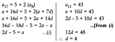 Important Questions for Class 10 Maths Chapter 5 Arithmetic Progressions 17