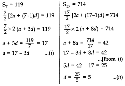 Important Questions for Class 10 Maths Chapter 5 Arithmetic Progressions 21