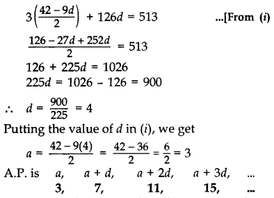 Important Questions for Class 10 Maths Chapter 5 Arithmetic Progressions 25