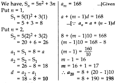 Important Questions for Class 10 Maths Chapter 5 Arithmetic Progressions 27