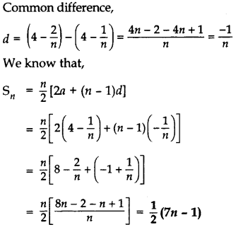 Important Questions for Class 10 Maths Chapter 5 Arithmetic Progressions 31