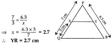 Important Questions for Class 10 Maths Chapter 6 Triangles 11