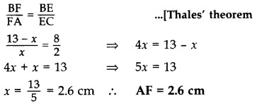 Important Questions for Class 10 Maths Chapter 6 Triangles 16