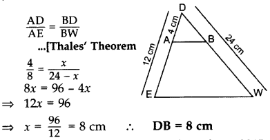 Important Questions for Class 10 Maths Chapter 6 Triangles 5
