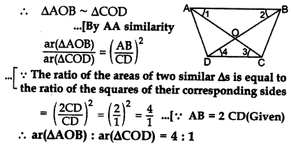 Important Questions for Class 10 Maths Chapter 6 Triangles 57