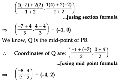 Important Questions for Class 10 Maths Chapter 7 Coordinate Geometry 10
