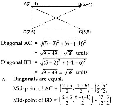 Important Questions for Class 10 Maths Chapter 7 Coordinate Geometry 24