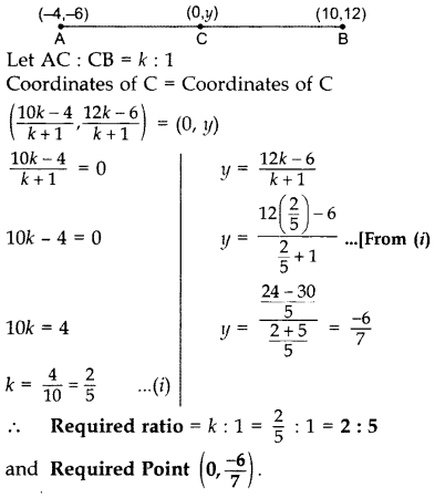 Important Questions for Class 10 Maths Chapter 7 Coordinate Geometry 27