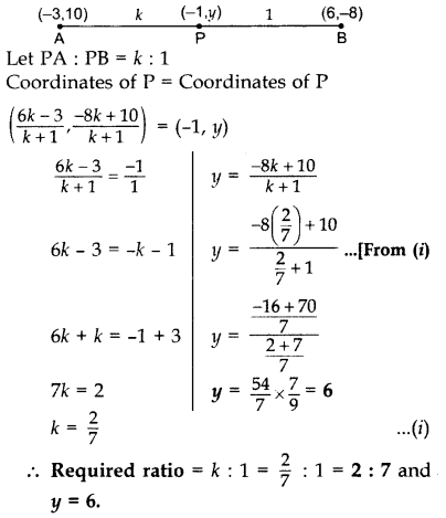 Important Questions for Class 10 Maths Chapter 7 Coordinate Geometry 28