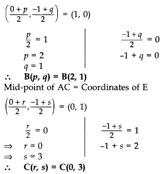 Important Questions for Class 10 Maths Chapter 7 Coordinate Geometry 36