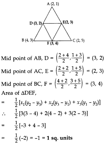 Important Questions for Class 10 Maths Chapter 7 Coordinate Geometry 39