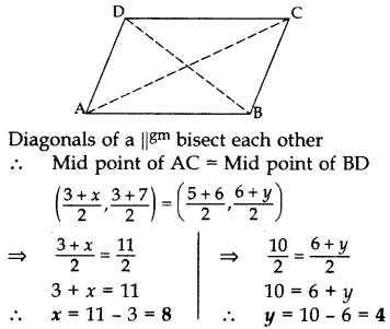 Important Questions for Class 10 Maths Chapter 7 Coordinate Geometry 50
