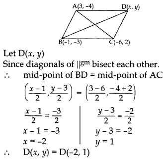 Important Questions for Class 10 Maths Chapter 7 Coordinate Geometry 52