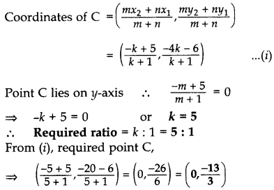 Important Questions for Class 10 Maths Chapter 7 Coordinate Geometry 8