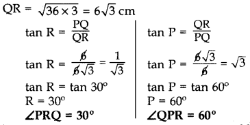 Important Questions for Class 10 Maths Chapter 8 Introduction to Trigonometry 20