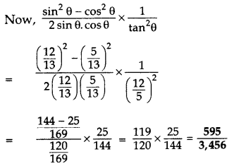 Important Questions for Class 10 Maths Chapter 8 Introduction to Trigonometry 26