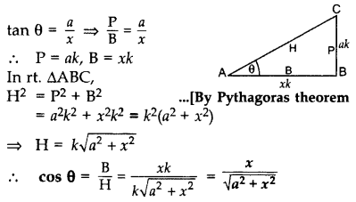 Important Questions for Class 10 Maths Chapter 8 Introduction to Trigonometry 3