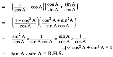Important Questions for Class 10 Maths Chapter 8 Introduction to Trigonometry 32