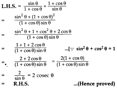 Important Questions for Class 10 Maths Chapter 8 Introduction to Trigonometry 35