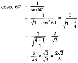 Important Questions for Class 10 Maths Chapter 8 Introduction to Trigonometry 45