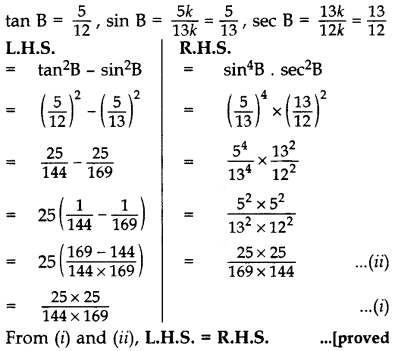 Important Questions for Class 10 Maths Chapter 8 Introduction to Trigonometry 51
