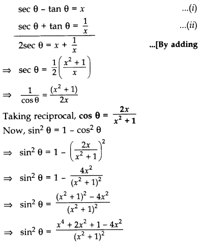 Important Questions for Class 10 Maths Chapter 8 Introduction to Trigonometry 53