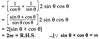 Important Questions for Class 10 Maths Chapter 8 Introduction to Trigonometry 57