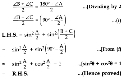 Important Questions for Class 10 Maths Chapter 8 Introduction to Trigonometry 60