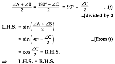 Important Questions for Class 10 Maths Chapter 8 Introduction to Trigonometry 8