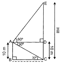 Important Questions for Class 10 Maths Chapter 9 Some Applications of Trigonometry 24