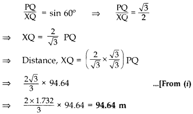 Important Questions for Class 10 Maths Chapter 9 Some Applications of Trigonometry 63