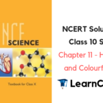 NCERT Solutions for Class 10 Science Chapter 11 Human Eye and Colourful World