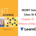 NCERT Solutions for Class 10 Science Chapter 13 Magnetic Effects of Electric Current
