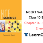 NCERT Solutions for Class 10 Science Chapter 14 Sources of Energy