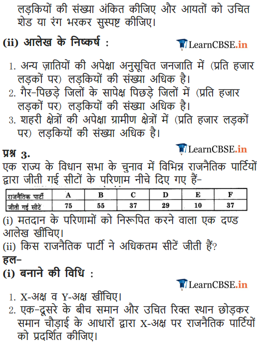 NCERT Solutions 9 Maths Exercise 14.3 for up, mp, gujrat, cbse board
