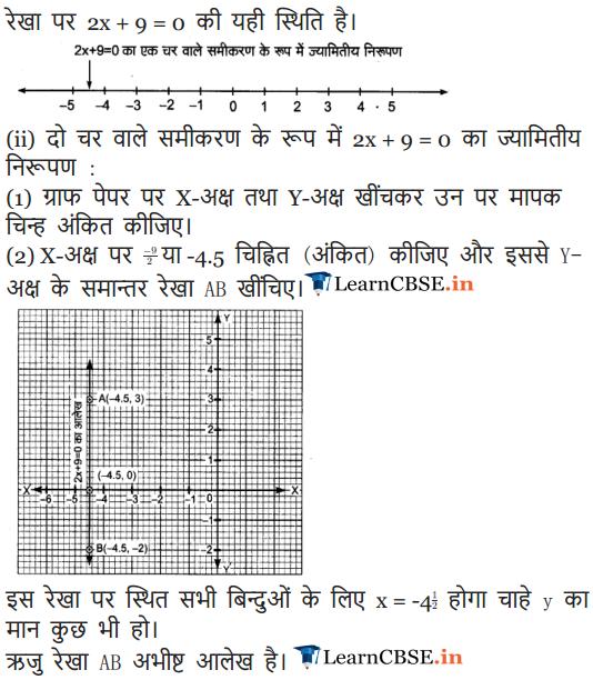 9 Maths Chapter 4 Exercise 4.3 in Hindi Medium