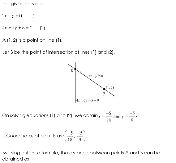 Class 11 Maths NCERT Solutions Chapter 10 Straight Lines Miscellaneous Exercise A15.1