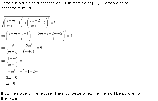 Class 11 Maths NCERT Solutions Chapter 10 Straight Lines Miscellaneous Exercise A16.2